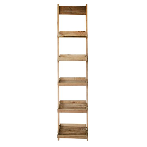 Humza Wood Ladder Bookcase By Gracie Oaks