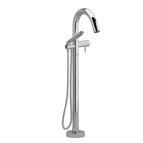 Riu Single Handle Floor Mounted Clawfoot Tub Faucet Trim by Riobel Riobel