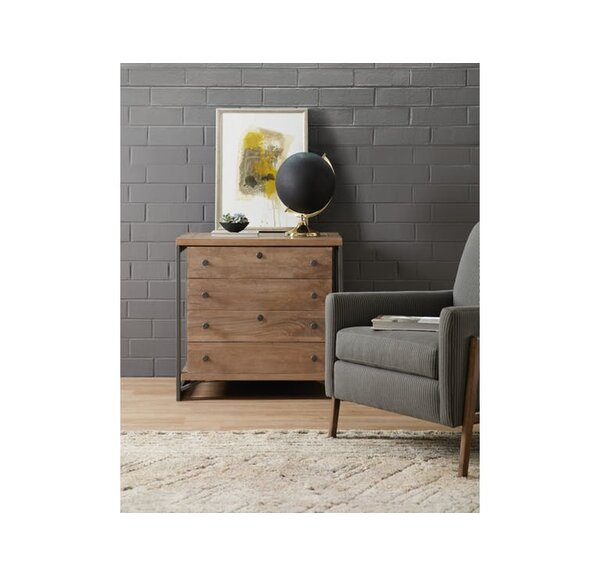 4-Drawer Lateral Filing Cabinet by Hooker Furniture