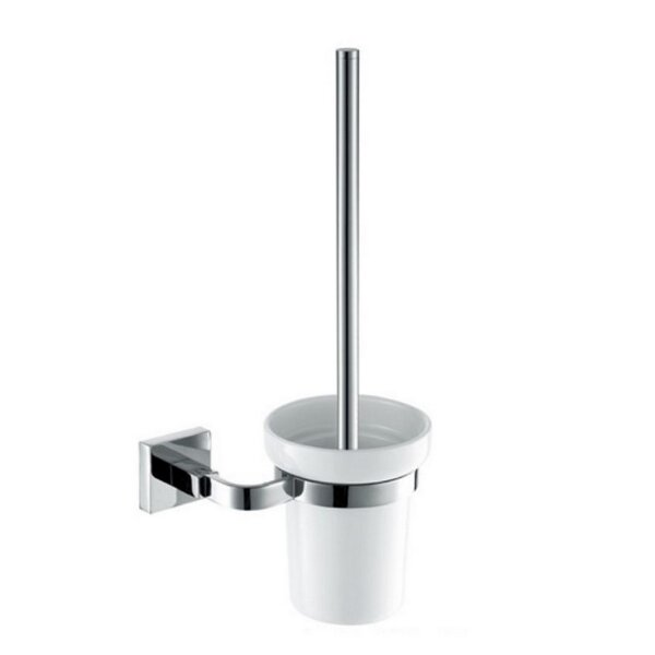 Squadra Wall Mounted Toilet Brush by Kube BathSquadra Wall Mounted Toilet Brush by Kube Bath