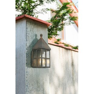 Inexpensive Weathersby Outdoor Wall Lantern By Gracie Oaks