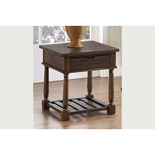 Mcclellan End Table with Storage by Gracie Oaks Gracie Oaks