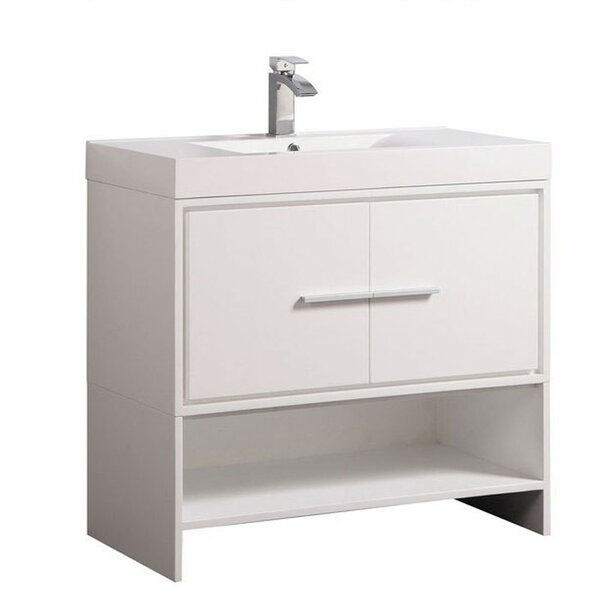 Peirce Modern 35 Single Bathroom Vanity Set by Orren Ellis