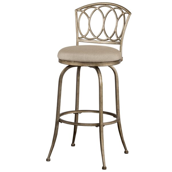 Dolan 30 Swivel Indoor/Outdoor Patio Bar Stool by Darby Home Co