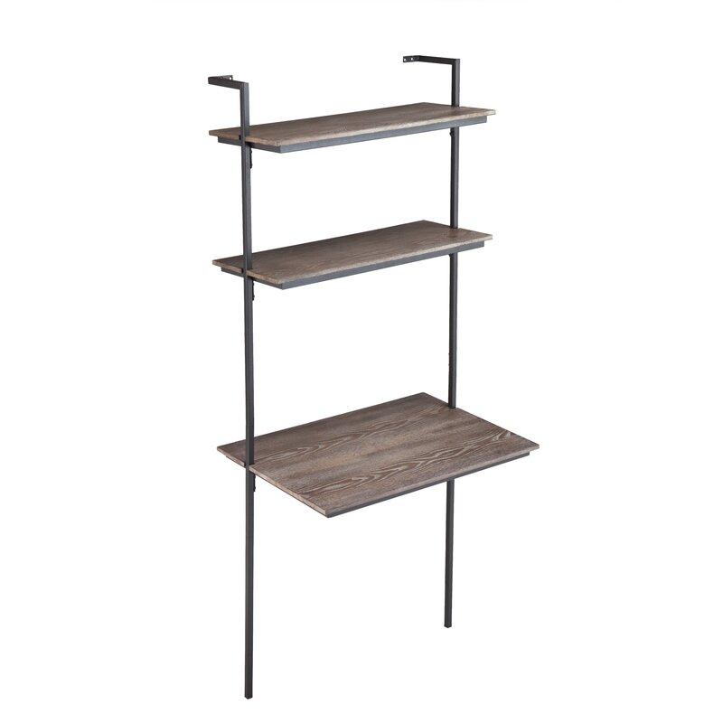 Zipcode Design  Arcade Ladder Desk Color: Gray Oak