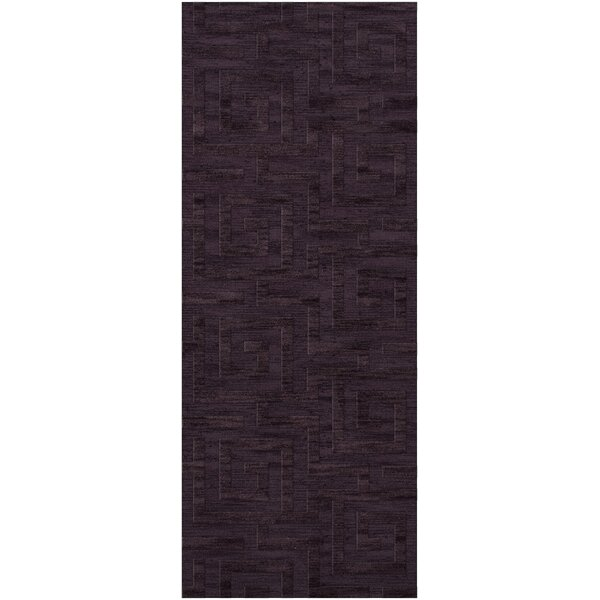 Jessica Geometric Tufted Wool  Grape Ice Area Rug