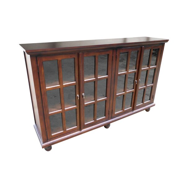 Library 4 Door Accent Cabinet By D-Art Collection Best Design