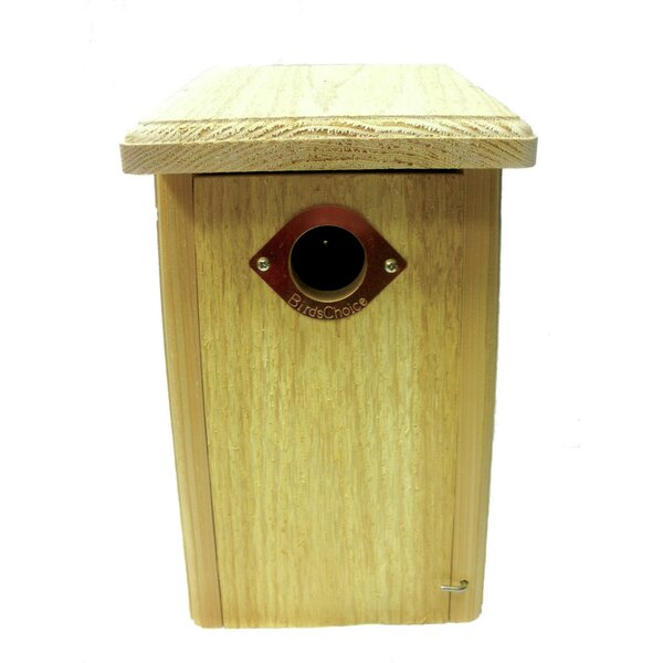 Cedar Nest Roosting Box 13 in x 8 in x 7 in Bluebi