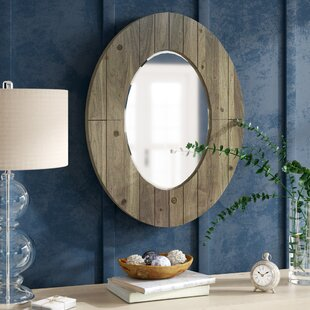 Affordable Price Newson Oval Wall Mirror ByGracie Oaks