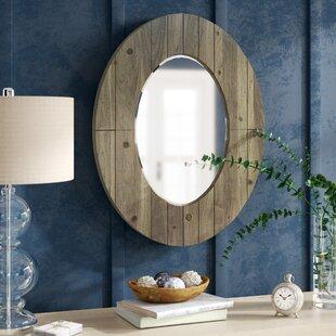 Great choice Newson Oval Wall Mirror ByGracie Oaks