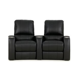 Coupon Home Theater Loveseat (Row of 2) Red Barrel Studio