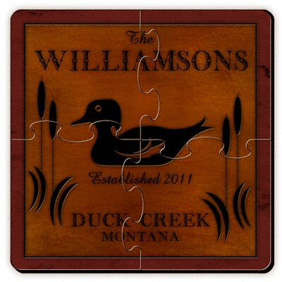 Jds Personalized Giftspersonalized Gift Cabin Series Coaster Puzzle Jds Personalized Gifts Dailymail