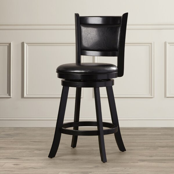 Marland 24 Swivel Bar Stool by Darby Home Co