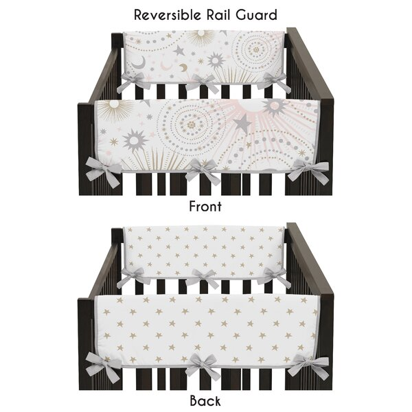 Celestial Crib Rail Guard Cover (Set of 2) by Sweet Jojo Designs