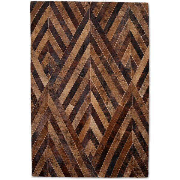 Brown/Tan Area Rug by Modern Rugs