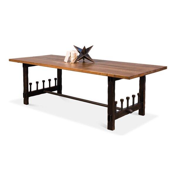 Wood Screw Dining Table by Sarreid Ltd