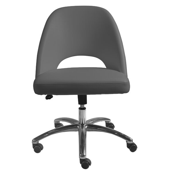 Zellmer Low Back Office Chair by Brayden Studio