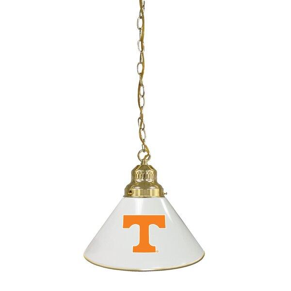 NCAA 1-Light Cone Pendant by Holland Bar Stool