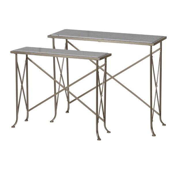 Hoy 2 Piece Console Table Set By Fleur De Lis Living