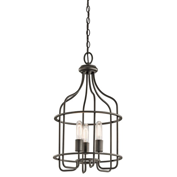 Galini 3-Light Foyer Pendant by Bay Isle Home