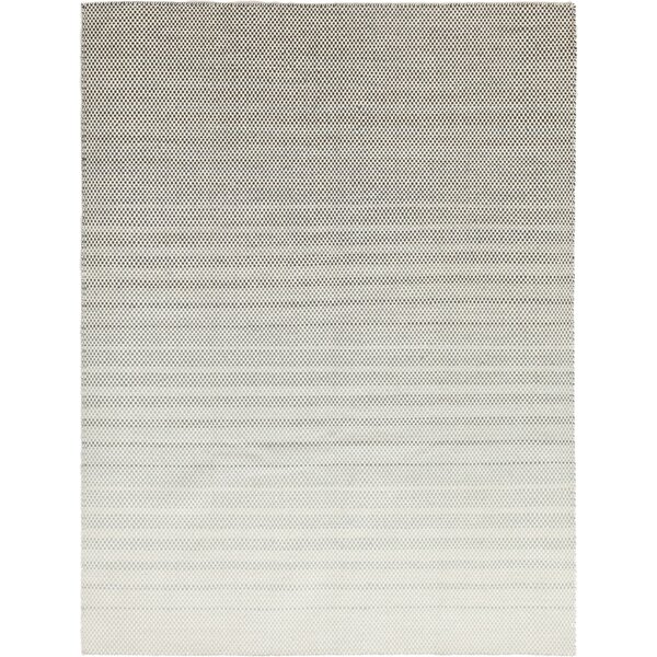 One-of-a-Kind Crothersville Hand-Knotted Wool Gray/Ivory Indoor Area Rug by Isabelline