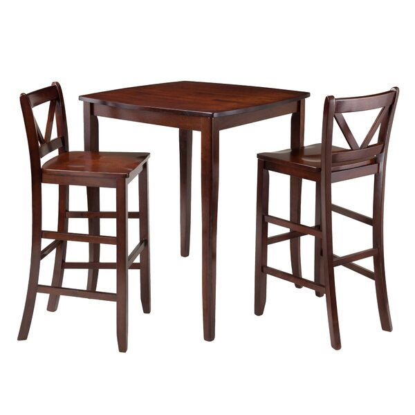Inglewood 3 Piece Pub Table Set by Winsome