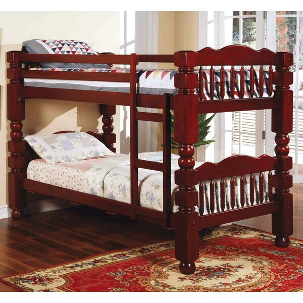 Englewood Twin over Twin Bunk Bed by Harriet Bee
