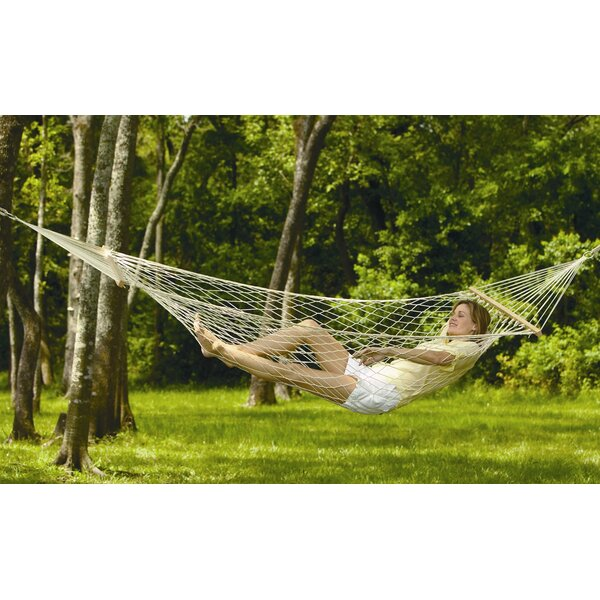 Padre Island Rope Cotton Tree Hammock by Texsport