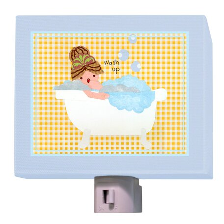 Wash Up Night Light by Oopsy Daisy
