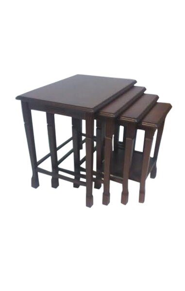 4 Piece Nesting Tables by Beyan Signature