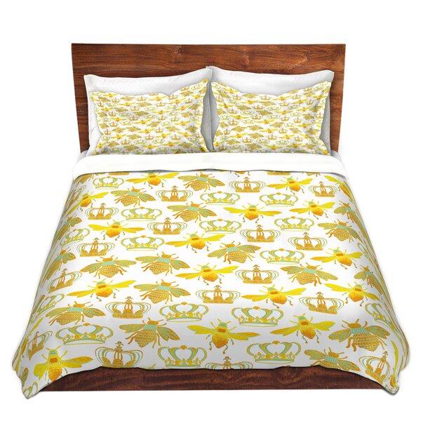 Finchley Pom Honey Bees Duvet Cover Set
