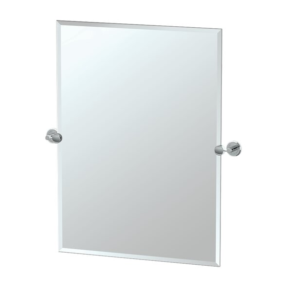 Latitude II Vanity Wall Mirror by Gatco