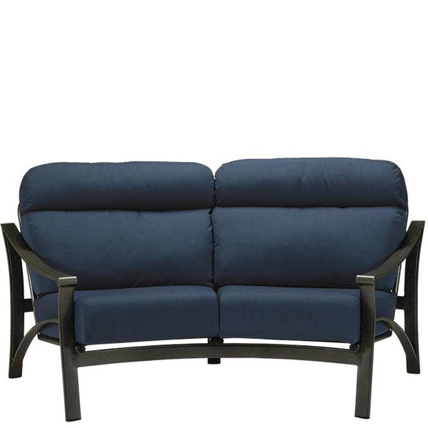 Corsica Loveseat with Cushions by Tropitone