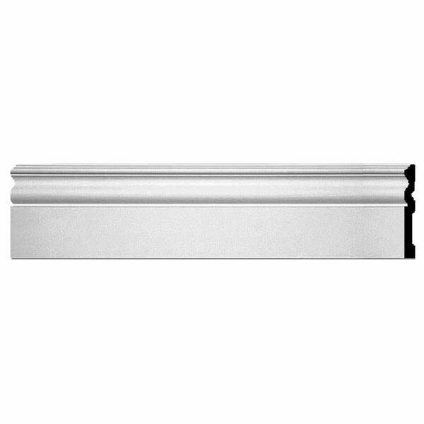 Bradford 5 7/8H x 96W x 5/8D Baseboard Molding by Ekena Millwork