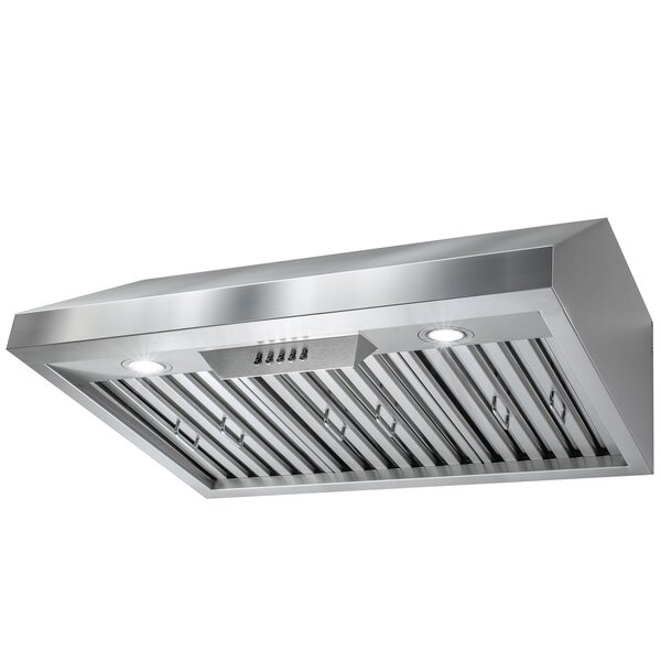 30 588 CFM Ducted Under Cabinet Range Hood by AKDY