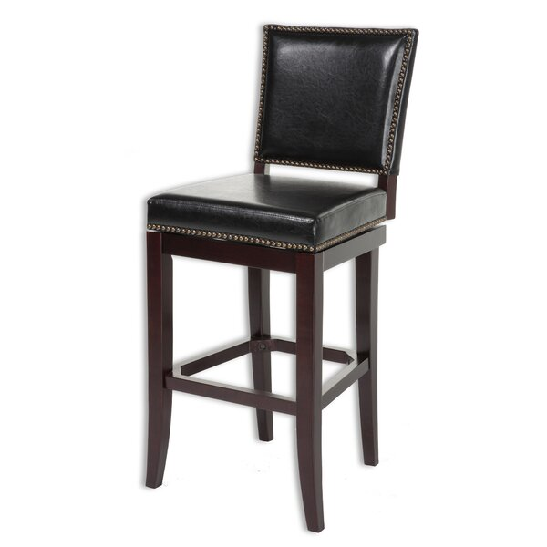 Porter 30 Swivel Bar Stool by Darby Home Co