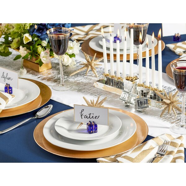 The Classic Satin Scalloped Edge Table Cloth Liner by Andover Mills