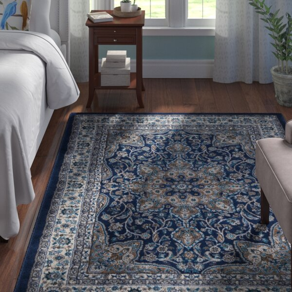 Tremont Blue Ivory Area Rug By Andover Mills.