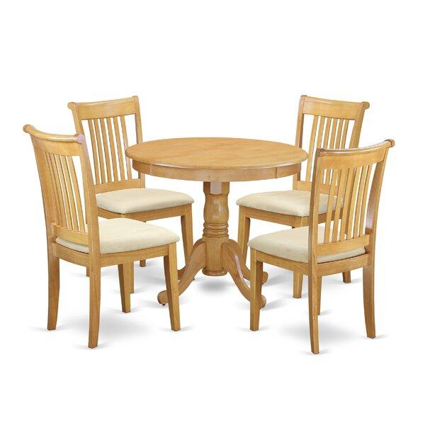 Bargain Asher 5 Piece Breakfast Nook Dining Set By August Grove Wonderful