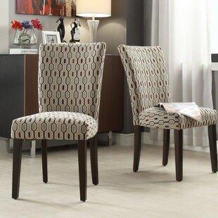Etna Stripe Side Chair (Set of 2)