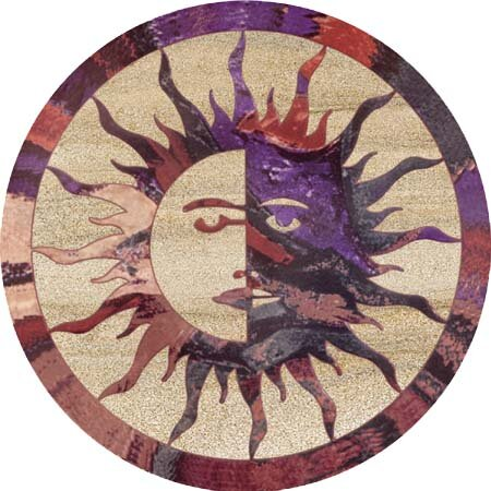 Sun Moon Coaster (Set of 4) by Thirstystone