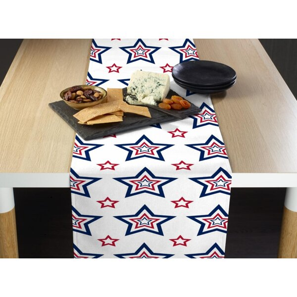 Epperly Funky Stars Milliken Signature Table Runner by The Holiday Aisle