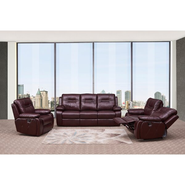 Douglas Forge Reclining  3 Piece Living Room Set by Red Barrel Studio