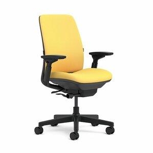 yellow office chairs you'll love | wayfair
