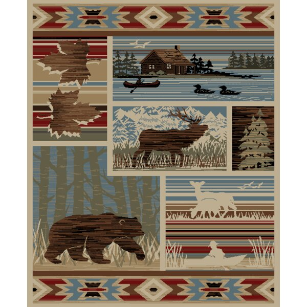 American Destinations Maple Valley Lodge Multi Area Rug by Mayberry Rug