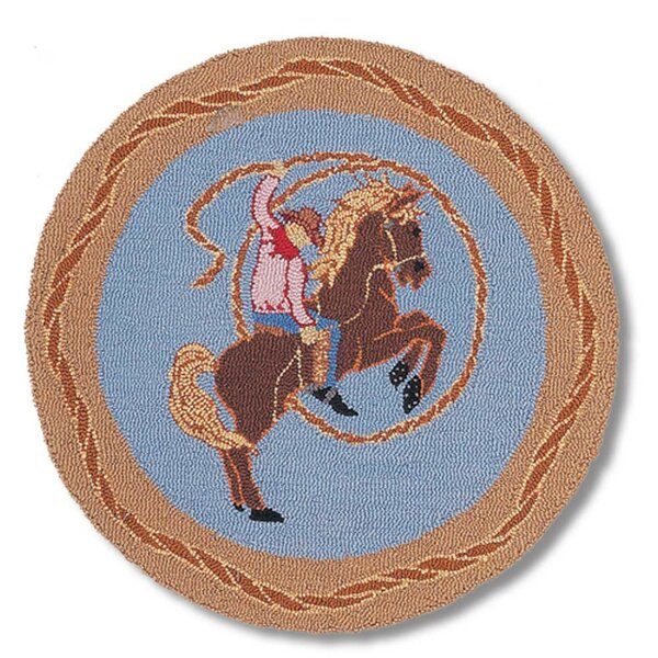 Cowboy Rodeo Kids Area Rug by Patch Magic