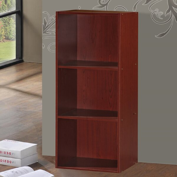 Smithville 3 Shelves Standard Bookcase by Andover Mills
