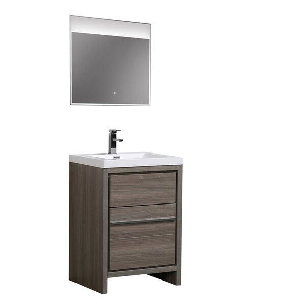Chetek 30 Single Bathroom Vanity Set with Mirror