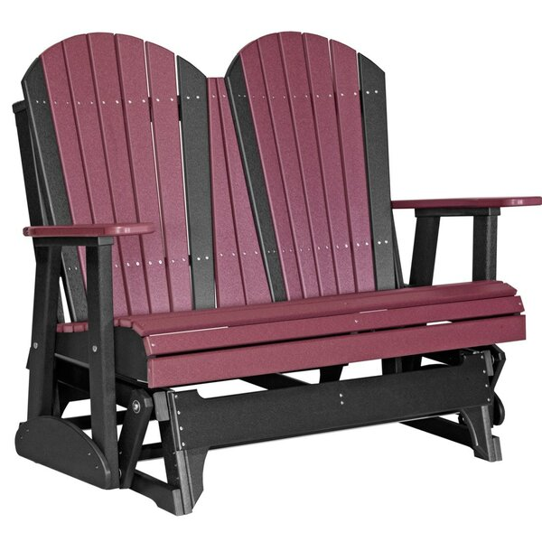 Neerings Adirondack Glider Bench by Ebern Designs