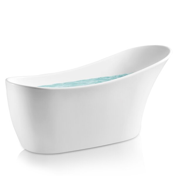 64 x 24 Freestanding Soaking Bathtub by AKDY